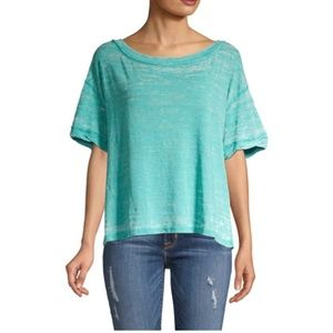 NWT Free People Viola open-back top